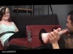 Tickle Sarah feet