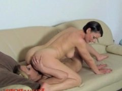 Blonde Casting Girl Getting her pussy toyed