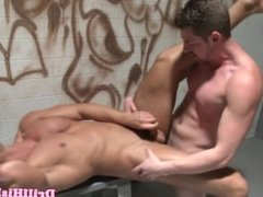Andrew Stark pounding tight hole