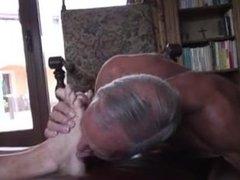 cuckold foot licking