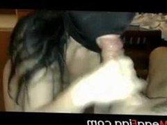 Arab Girl Sucking Big Moroccan Cock