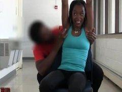 College girls are ticklish too