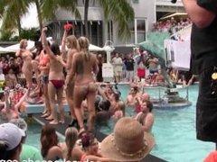 dantes legendary pool party during fantasy fest key west 2014