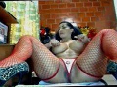 Milf with huge ass dildo on cam cbsexcams.com