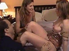 Janine Riggs aka Sexxy Veronika seduced by hot neighbor couple