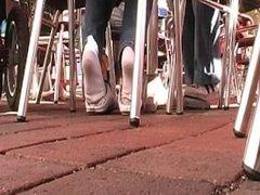 White Socks And Sneaker Girl