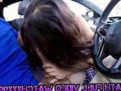 BlowJob Fridays Valentina Vixen gives head in the car
