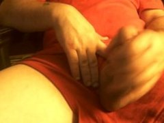 Solo Handjob and Cumshot