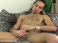 Sexy Straight Guy Dax Masturbating
