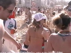 largest beach party in the world real girls flashing pussy and tits padre