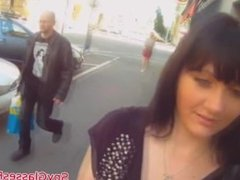 Real euro babe on spycam video drilled after getting picked up