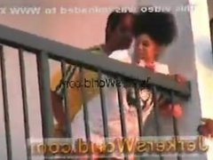 Hoe Fucked On Hotel Balcony As Spectators Watch
