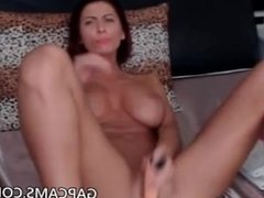 Super hot dildo masturbation by amateur model