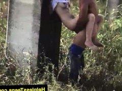 HelplessTeens.com Kaylee Banks in outdoor rough teen sex for ride home
