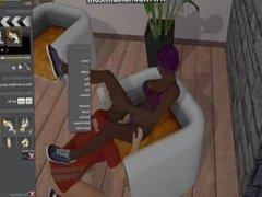 THRIXXX CHATHOUSE ONLINE SEX VIDEO GAME #2
