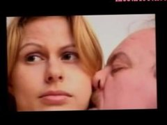 OLD MAN AND TEEN n30 blonde teen babe and a mature man