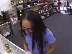 Hidden Camera Sex in shop on xxxpawn.pornotagir.com