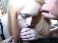 Amateur Redhead POV Sex