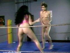 Wrestling Fetish Lesbians, Scene 1