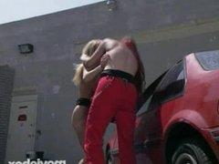 Wrestling Fetish Lesbians, Scene 4