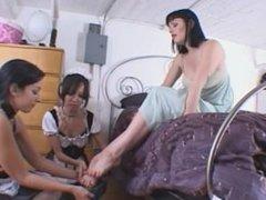 2 maids serve 1 mistress 1