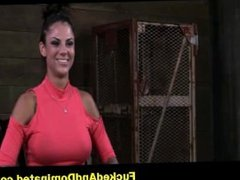 Bonnie Rotten gagged and bound tight 1