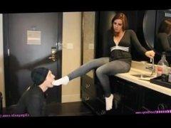 stinky socks girl