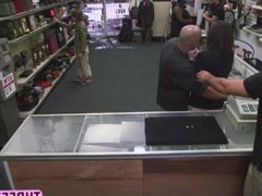 Amateur wife in pawnshop gets saved by pawnshop owner