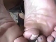 Raven French Pedicure Feet