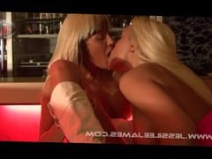 Hot Action in a Bar
