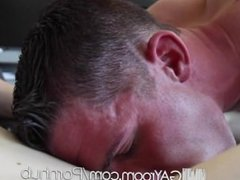 HD GayRoom - Twink pounds tight ass with his hard dick