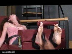 toe tied tickling