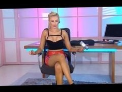 stunning mikayla bayliss playboy tv chat daytime show