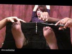 Tickle abuse - Punishing milf Vivian
