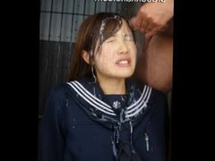 Natsumi Urabukkake Sailor Girl Faces Lot Of Cocks & Super Hot Bukkake