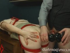 Assmouth 2: brutal anal destruction and ass to mouth for skinny bimbo