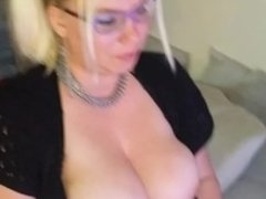 Valintine's Day Nipple Clamps on cam