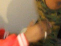TRedd Belafonte Twerking Behind The Scenes of A Music Video