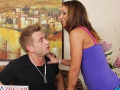 Young cutie Jada Stevens gets fucked and cummed
