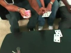 Hot Blonde in a game of Spades