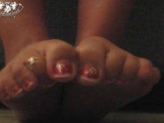 Morgans stinky feet !