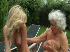 Bikini Granny Norma Lesbian Candy