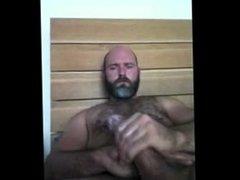 Handsome Dady Jerks off & Cums