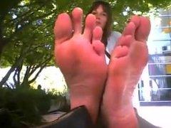 Long Feet Soles Stinky