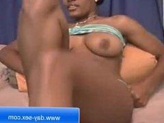 Ebony Hot Sex Show for free