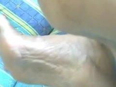Mature feet shawn