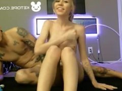 hot couple playing