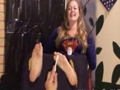 Supergirl Tickled In Stock