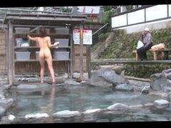 NAO - Nude Flashing At Public Bath