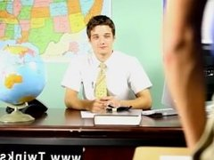Gay orgy Krys Perez plays a crazy professor who's curious about the size